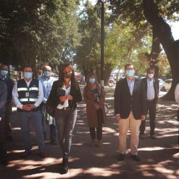 Regantes del Río Ñuble suman apoyo de senadora van Rysselberghe para agilizar gestiones del embalse La Punilla